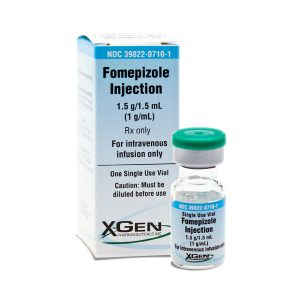 Fomepizole Injection | X-Gen Pharmaceuticals, Inc