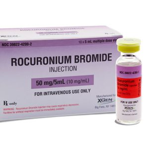 Rocuronium Bromide Injection (50mg/5mL)